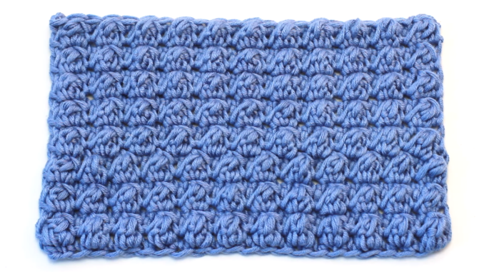 Crochet Even Berry Stitch Free Pattern Video Tutorial For Beginners