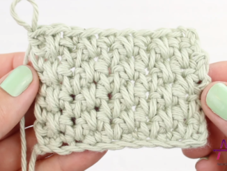 Crochet Alternating Spike Stitch Pattern - Easy Tutorial For Beginners