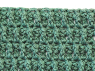 Crochet Arruga Stitch - Easy & Quick Tutorial + Free Pattern For Beginners