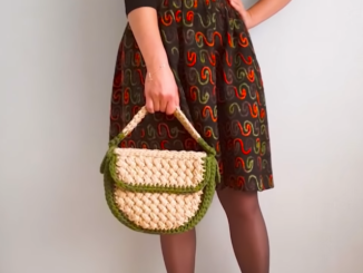 How To Crochet A Handbag | Crochet Project For Beginners