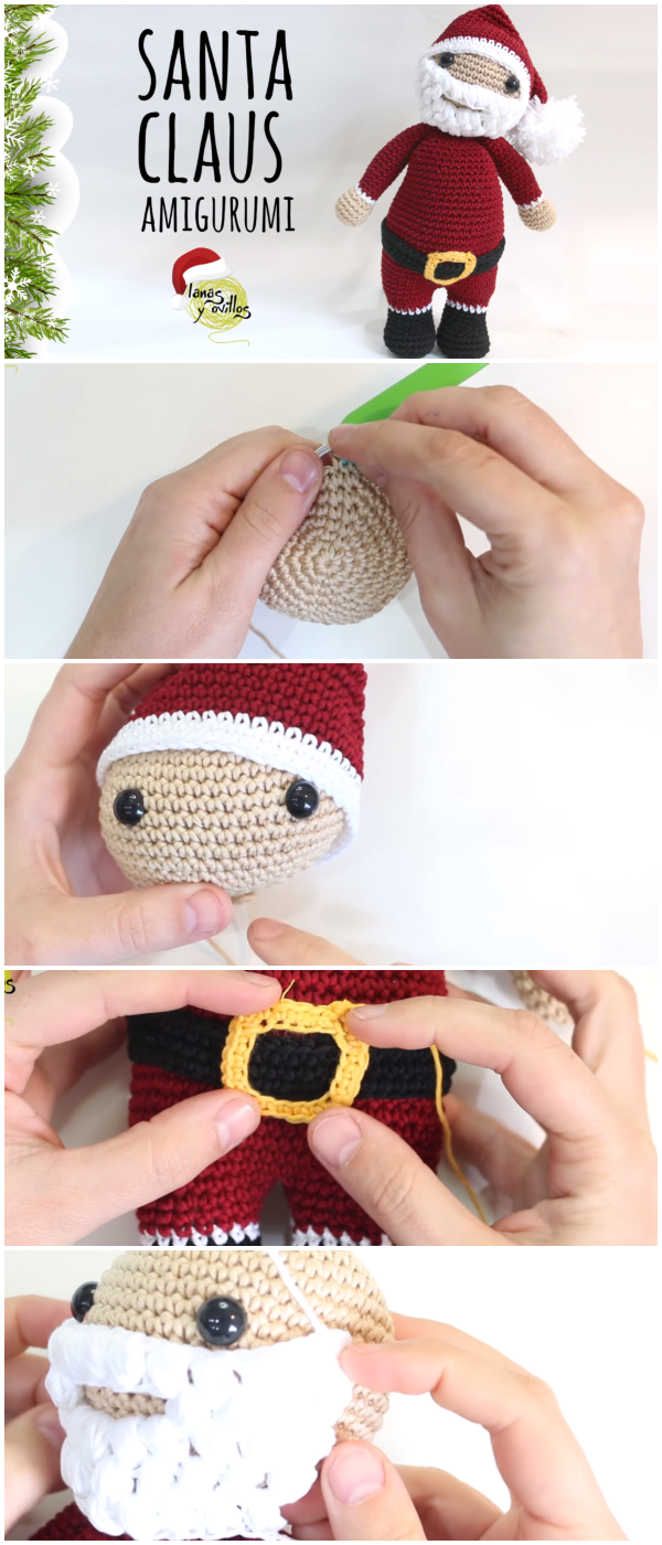 Mr & Mrs Santa Claus Amigurumi Original designs by... | | 1400x600