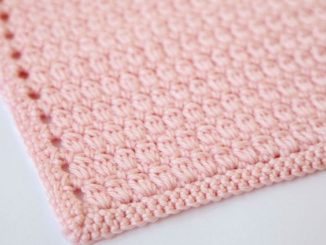 Crochet Cozy Cluster Stitch For Beginners + Free Pattern - Easy Tutorial For Crocheting A Baby Blanket