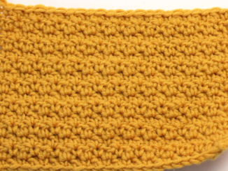 "Crochet The Lemon Peel Stitch - Easy Step By Step "" How To Make "" Tutorial For Beginners With Free Videos Which Walks You Through The Simple Learning Process"