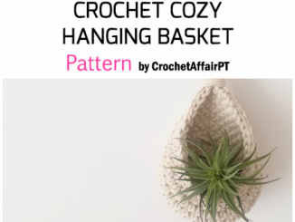 Cozy Hanging Basket - Free Pattern