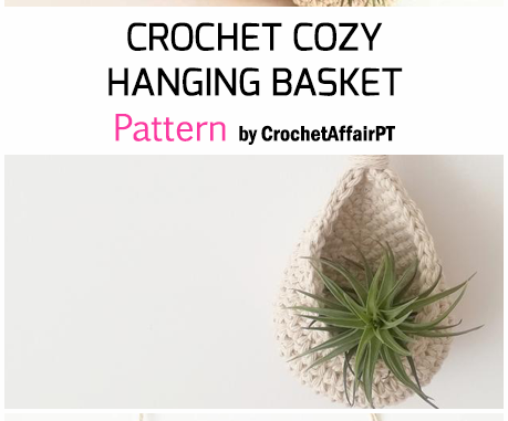 Cozy Hanging Basket - Free Pattern
