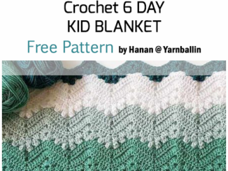Crochet 6 Day Kid Blanket - Free Pattern