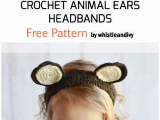 Crochet Animal Ears Headbands - Free Pattern For Beginners
