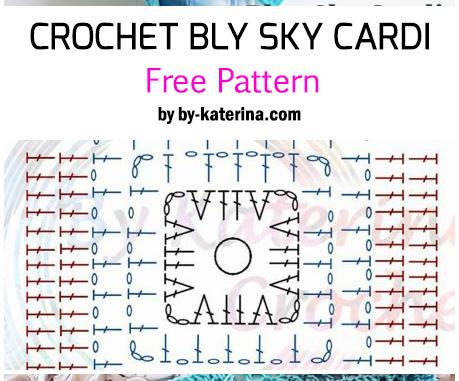 Crochet Blue Sky Cardigan - Free Pattern