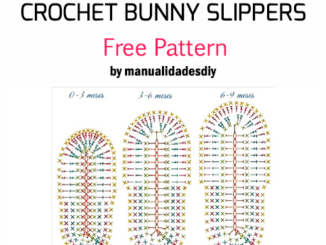 Crochet Bunny Slippers - Free Pattern