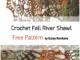 Crochet Bobble Stitch Triangle Shawl - Free Pattern