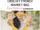 Crochet French Market Bag - Free Pattern