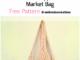 Crochet Pineapple Stitch Market Bag - Free Pattern