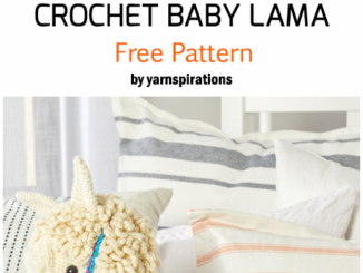 Crochet Red Heart Baby Lama - Free Pattern