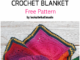 Crochet Sophies Dream Blanket - Free Pattern