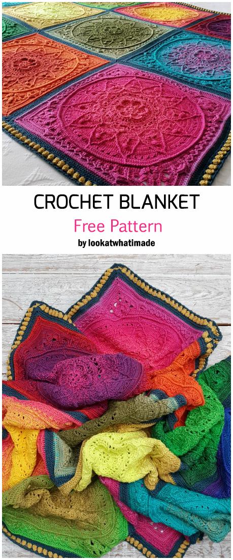 Crochet Sophies Dream Blanket - Free Pattern