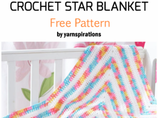 Crochet Start Shaped Baby Blanket - Free Pattern
