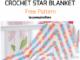 Crochet Start Shaped Baby Blanket - Free Pattern