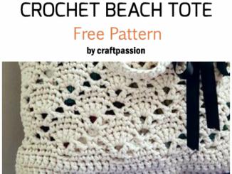 Crochet Vintage Beach Or Market Tote - Free Pattern