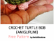 Crochet Amigurumi Turtle Keychains - Free Patterns
