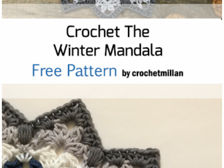 Crochet Winter Mandala - Free Pattern