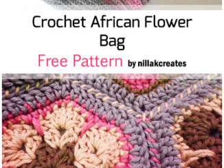 Crochet African Flower Bag - Free Pattern
