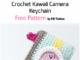 Crochet Kawaii Camera Keychain - Free Pattern