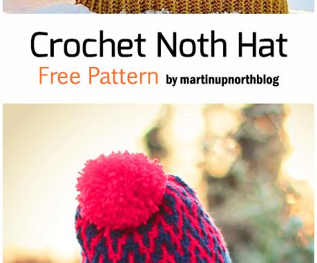 Crochet North Hat - Free Pattern