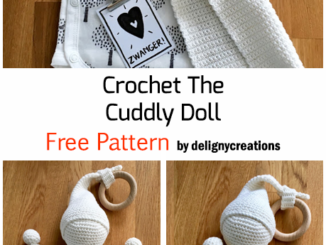 Crochet Cute Cuddly Doll - Free Pattern