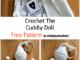 Crochet Cute Cuddly Doll - Free Pattern