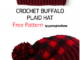 Crochet Buffalo Plaid Hat - Free Pattern