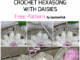 Crochet Hexagons With Daisies - Free Pattern