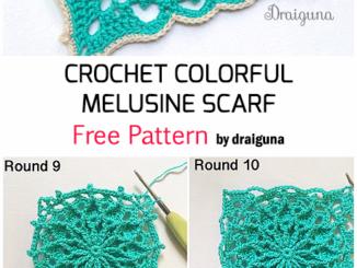 Crochet Wispweave Square - Free Pattern