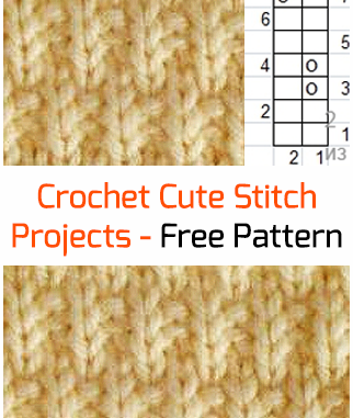 Crochet Cute Stitch - Free Pattern