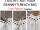 "Crochet ""Not Your Granny"" Beach Bag - Free Pattern"