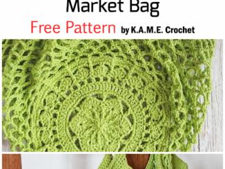 Crochet Sakura Market Bag - Free Pattern