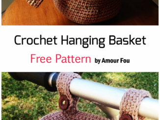 Crochet Hanging Basket - Free Pattern