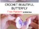 Crochet A Butterfly - Free Pattern