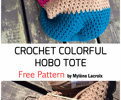 Crochet The Hobo Tote - Free Pattern