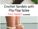 Sandals with Flip Flop Soles - Free Pattern