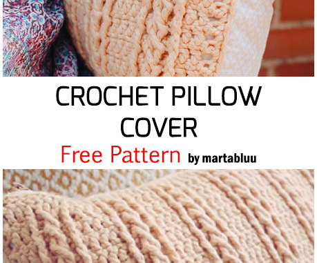 Crochet Pillow Cover - Free Pattern