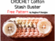 Crochet Cotton Stash Buster - Free Pattern