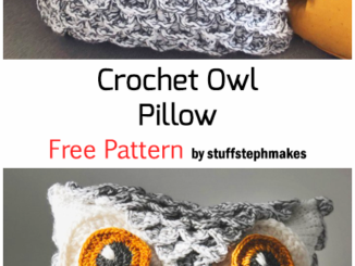 Crochet Owl Pillow - Free Pattern