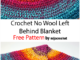Crochet No Wool Left Behind Blanket - Free Pattern