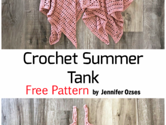 Crochet Summer Tank - Free Pattern