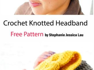 Crochet Knotted Headband - Free Pattern